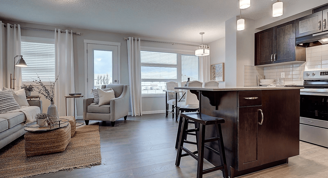 Choosing the Perfect Floor Plan for Downsizing Living Area Image