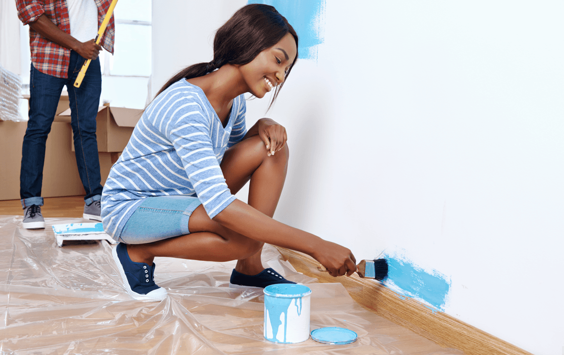 Do-It-Yourself Staging Ideas for Selling Your Home Painting Image